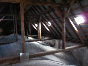 Evangelický kostel - podkroví