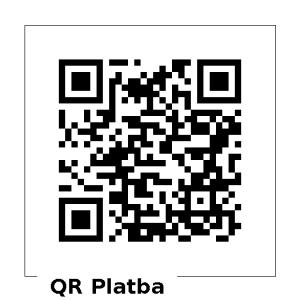 QR kód pro platbu Prašivá
